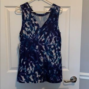 New—Sleeveless blue:purple blouse from Old Navy